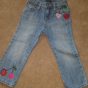 Baby gap girls jeans